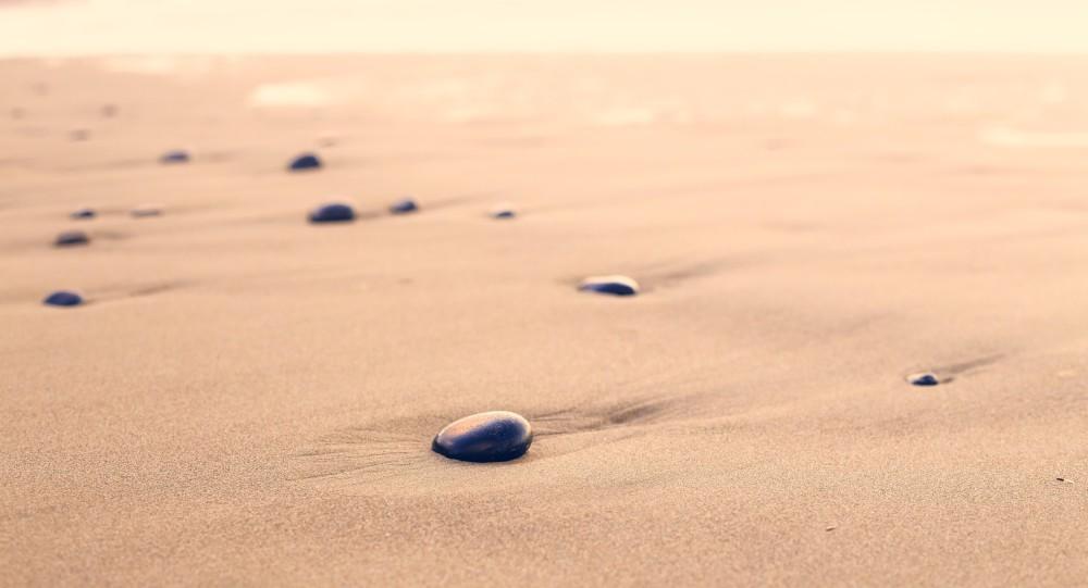Stone on a beach